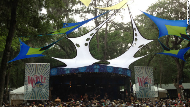 Wanee festival pays tribute to Levon Helm