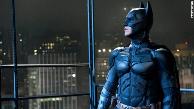 Christian Bale's going to miss that Batman suit