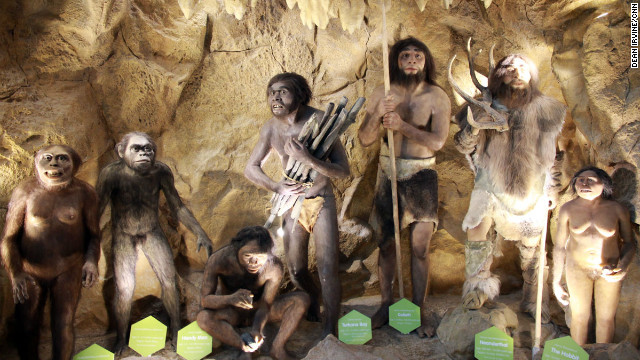 "The hominid exhibit at Manila's new science and natural history museum: ""It is a big challenge to educate the public about evolution, but it's not that our people are so unaccepting,"" said Maria Isabel Garcia, curator of The Mind Museum."