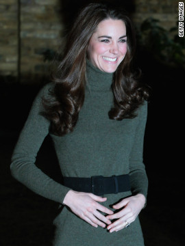"On the photo that stirred false pregnancy rumors: ""I'm not sure if someone made a joke or Prince William said something to her but she just sort of laughed a bit and held her hands there and obviously it's a fortunate or unfortunate picture, depending on how you're looking. The picture has winged its way around the world onto numerous front pages."""