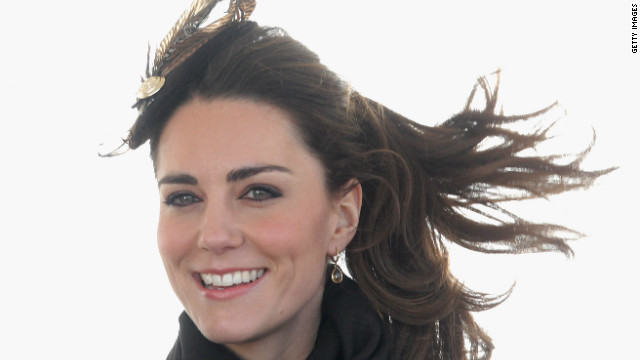 On Kate's official apperance after her engagement to Prince William: &quot;From the point of view of pictures and moving images, I think Catherine always looks very confident. Even from her first appearance, I remember up in north Wales, she stepped out of the car with a huge smile on her face.&quot;