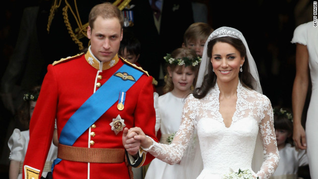"Getty Images photographer Chris Jackson talks to CNN about key images of Kate Middleton: ""I was lucky enough to be positioned right outside the front of Westminster Abbey. I was seriously nervous. I had to get this picture. As they came out the front door, the crowd roared and I was just shooting away and you literally only had a matter of minutes, if that."""