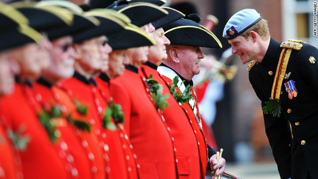 "Prince Harry is said to be ""honored"" by the Atlantic Council's award, which he will receive in a ceremony in Washington D.C. on May 7."