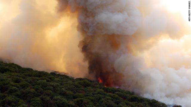 Incendio arrasa bosque La Primavera en México