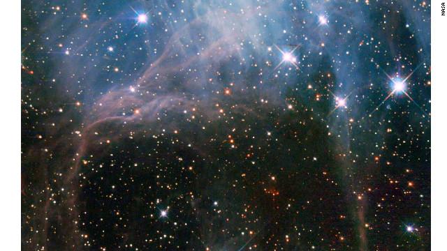 El Hubble se adentra en gran nube donde nacen las estrellas