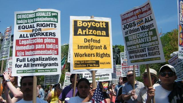 La Corte Suprema decide el futuro de la Ley SB1070 de Arizona