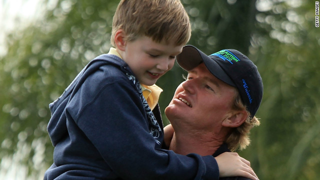 Ernie Els: A father\'s love
