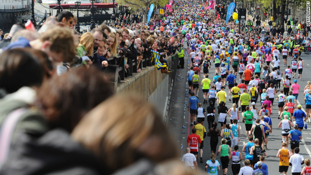 Around 37,500 runners took part in the London Marathon. Claire's death is the 10th since the race began in 1981 and she is the only woman to have died in the event.<br/><br/>