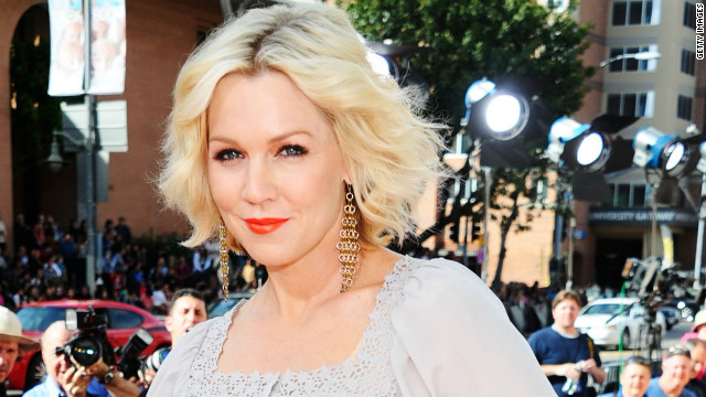 Jennie Garth: Farm animals help me cope with split