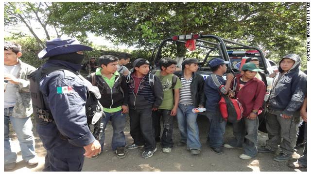 Abandonan a más de 100 migrantes en el sureste de México