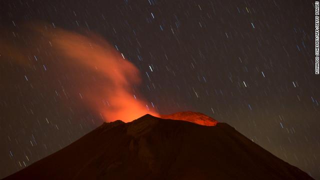 Aumenta la actividad sísmica en el volcán Popocatépetl