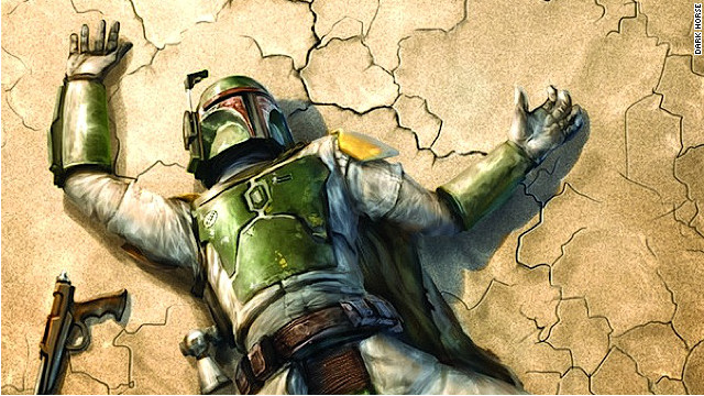 Image result for boba fett hurt