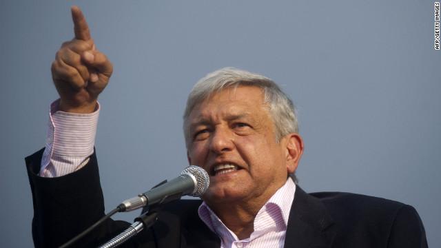 López Obrador se separa del Movimiento Progresista de México