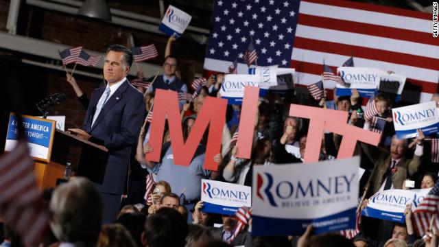 Romney gana las primarias en otros cinco estados, según proyecciones de CNN