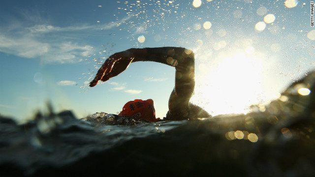 Open-water swimming tips from the pros