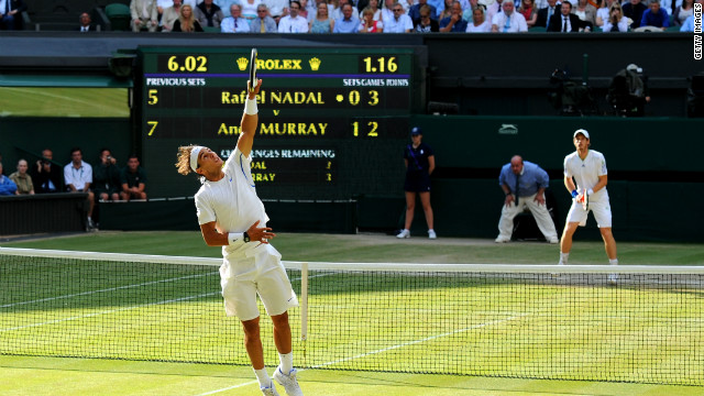 "Rafael Nadal ruined Britain's hopes of a home finalist after defeating Andy Murray in the 2011 semis. Both were part of the ""Big Four"" who helped secure pay increases. Semifinalists will now take home �287,500 ($463,336) -- up 4.5%."