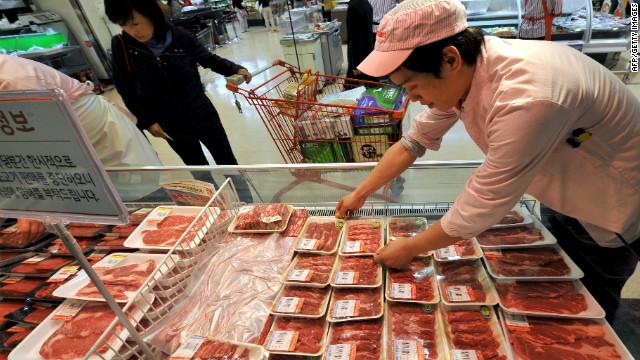 """Caso de """"Vacas Locas"""" en EE.UU. hace sonar las alarmas en Corea del Sur"""