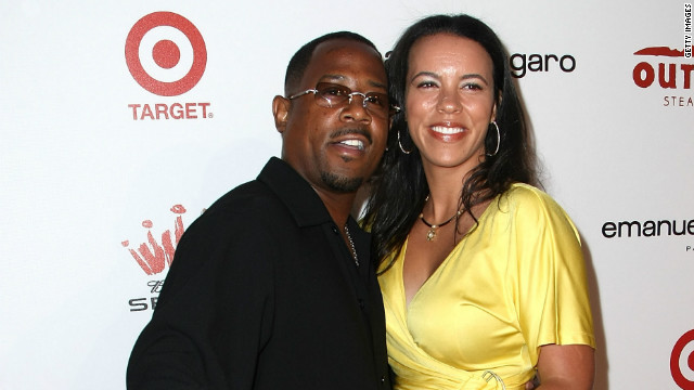Martin Lawrence, wife to divorce