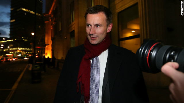 Culture Secretary Jeremy Hunt is frequently referred to in News Corp e-mails.