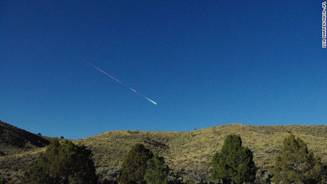NASA: Meteor over California and Nevada was size of minivan