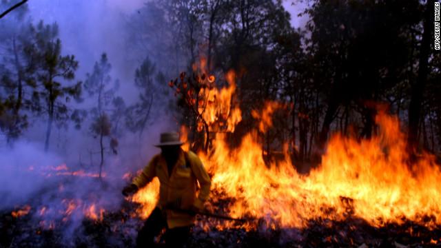 Guadalajara en contingencia por incendio en La Primavera