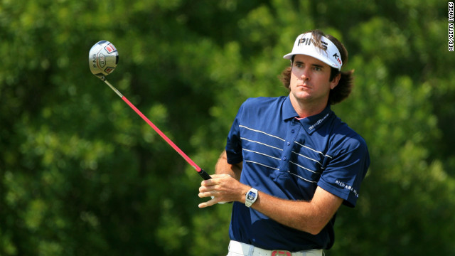 Bubba Watson says he has spent most of his time with his family since winning his first major at Augusta.