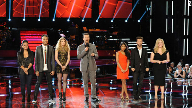 Eight remain on 'The Voice'