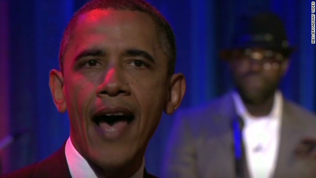 Gotta Watch: Obama grabs late night laughs with a song