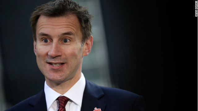 Jeremy Hunt rejects suggestions he had acted improperly in his dealings with Rupert Murdoch's News Corp.