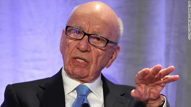Rupert Murdoch claimed he had been