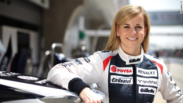 Susie Wolff, 29, joined Williams F1 as a development driver in April.