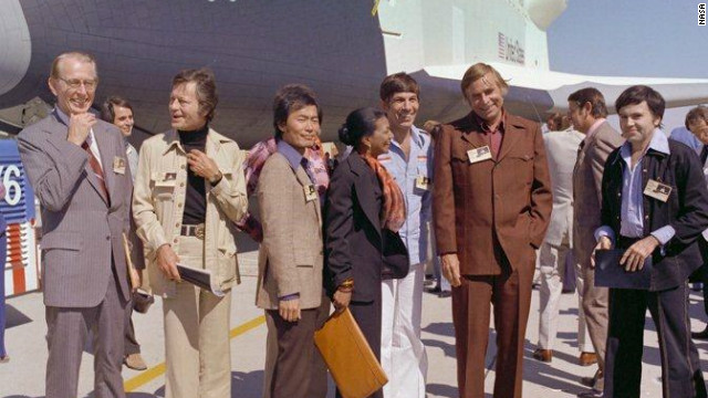 Shuttle Enterprise has a 'Star Trek' legacy