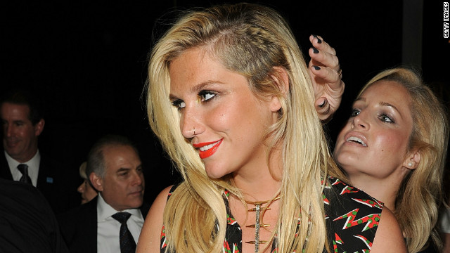 Ke$ha takes bathroom humor to a new level