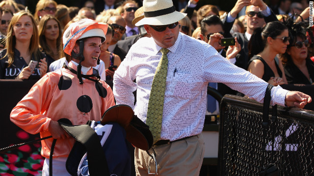 Melbourne jockey Luke Nolan and trainer Peter Moody will be hoping their champion throroughbred can continue her unbroken winning streak.<br/><br/><br/><br/>