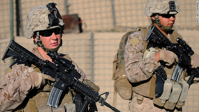 Engage: Women Marines heading toward the front lines