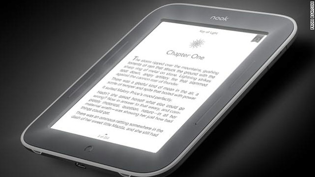 The GlowLight makes the lightweight reader ready for night reading without the need for an overhead, clip-on or external light.