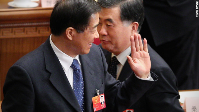 Wang Kang has doubts about whether Bo Xilai (left) was involved in Neil Heywood's murder.