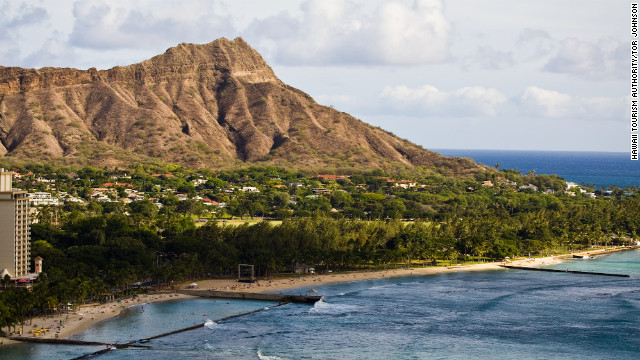 Climbing Diamond Head can be strenuous, but it only costs $1 for pedestrians to enter the park.