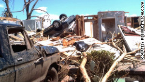 Stephannie Nixon\'s house was destroyed in the April 27, 2011 tornado outbreak.