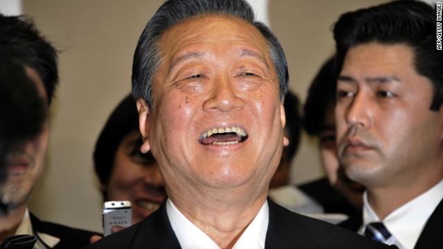 Ichiro Ozawa -- nicknamed the