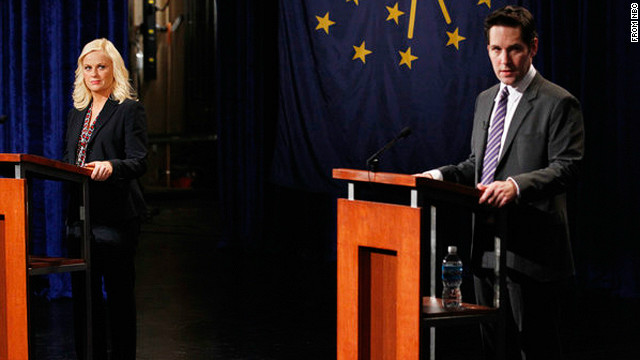 'Parks and Rec': A debate face-off with Paul Rudd