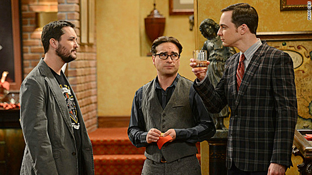One wild stag party (and Wheaton) on 'The Big Bang Theory'