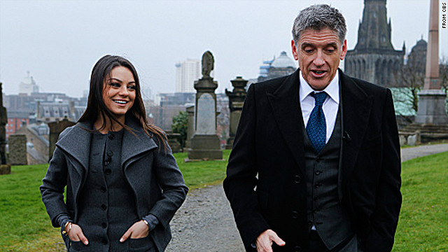 Craig Ferguson (and his show) goes home to Scotland