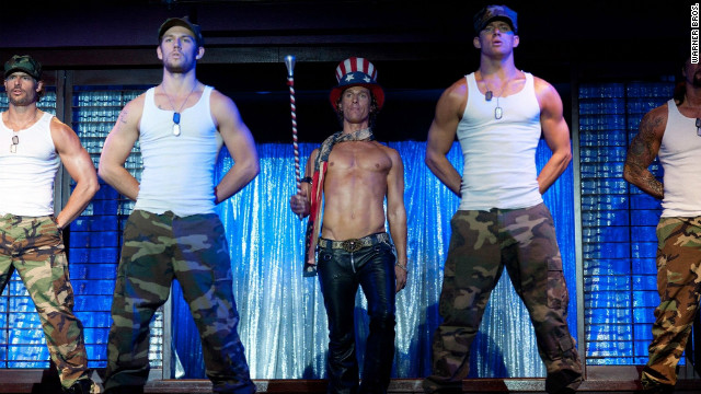 So, about those 'Magic Mike' costumes...