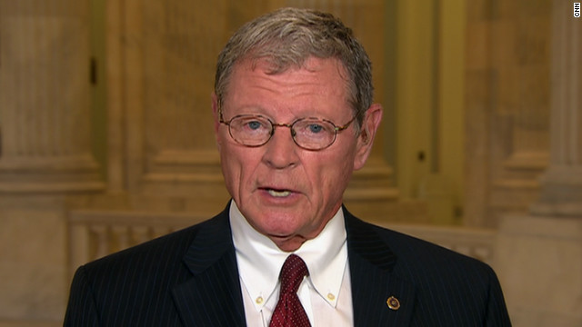Sen. James Inhofe, R-Oklahoma, a pilot, is spearheading legislation to institute a 