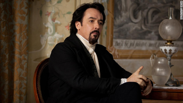 "John Cusack as Edgar Allan Poe in ""The Raven"""