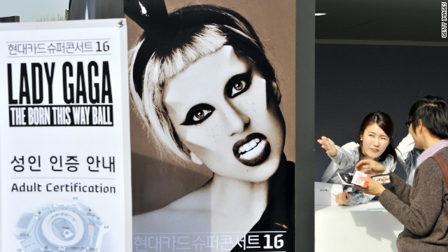 Korean Christians up in arms over Gaga's 'pornographic' show