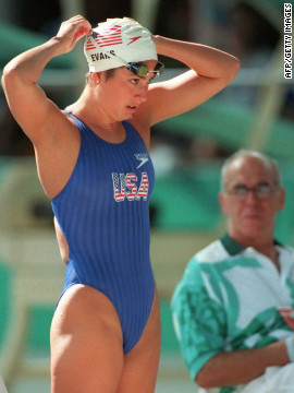 Evans is hoping to qualify for her fourth Olympics, having competed at Seoul in 1988, Barcelona in 1992 and Atlanta in 1996.