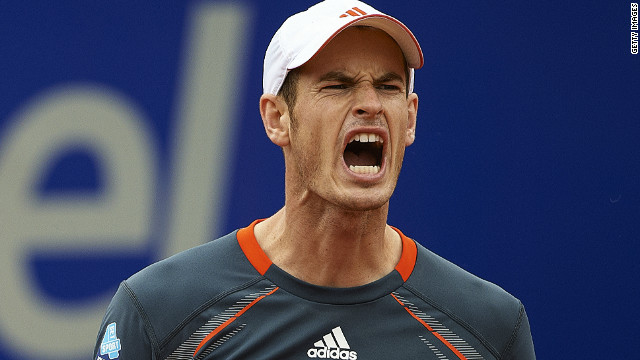 World No. 4 Andy Murray was dumped out of the Barcelona Open by 21-year-old Canadian Milos Raonic