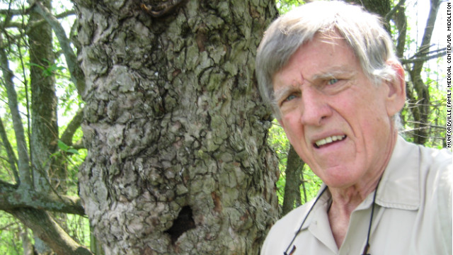 Doctor who planted 750K trees gets Arbor Day weekend salute